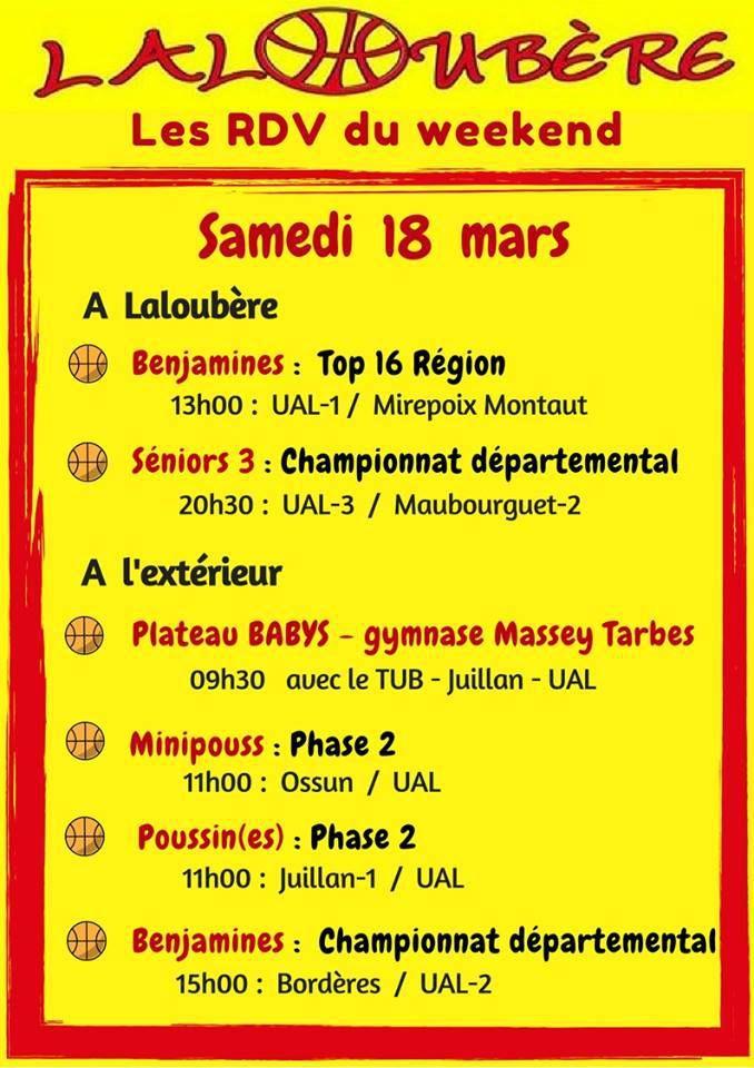 WE 18 &amp&#x3B; 19 mars