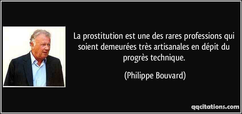 pensée prostituée