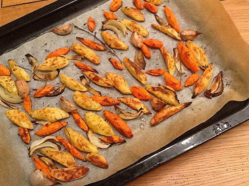 Recette : Légumes grillées au four