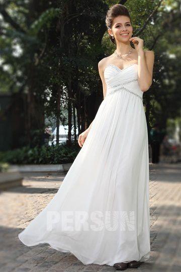 acheter des robes blanches