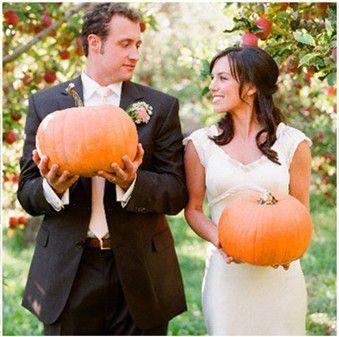 Idées fraîches pour thème mariage Halloween