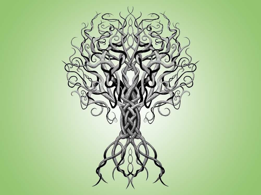 Yggdrasil, l'Arbre-Monde de la mythologie nordique