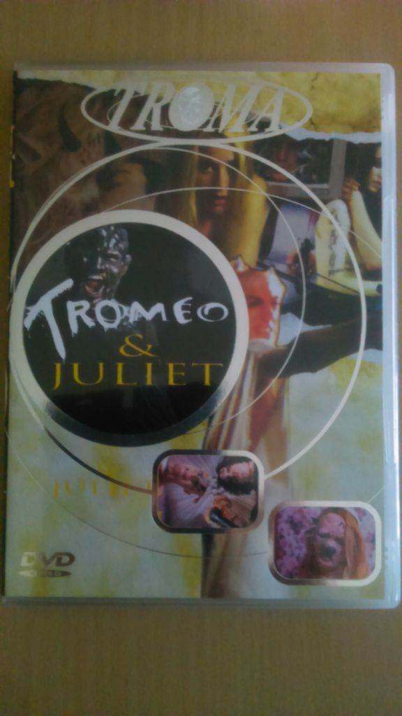 DVD Troméo et Juliet - Collection Troma - 40 euros