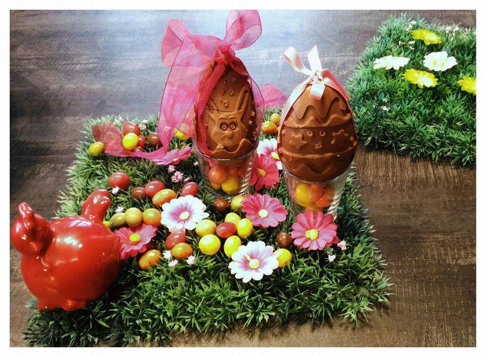 Chocolats de Pâques - Oeufs façon Kinder