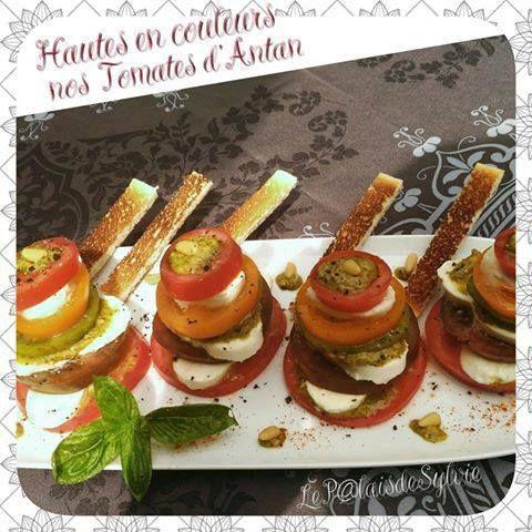 Hautes en couleur nos tomates d'antan