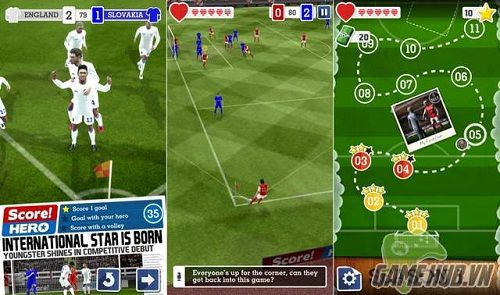 Score Hero is one of those football games exciting