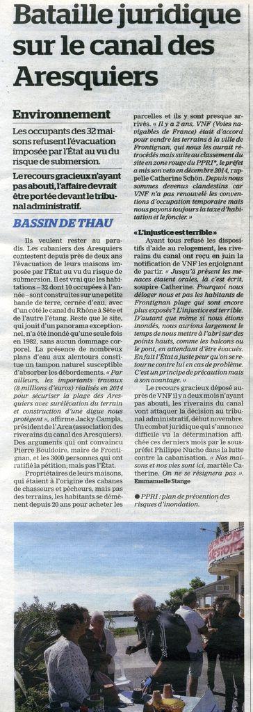 La Marseillaise du mercredi 21 septembre 2016 page 5