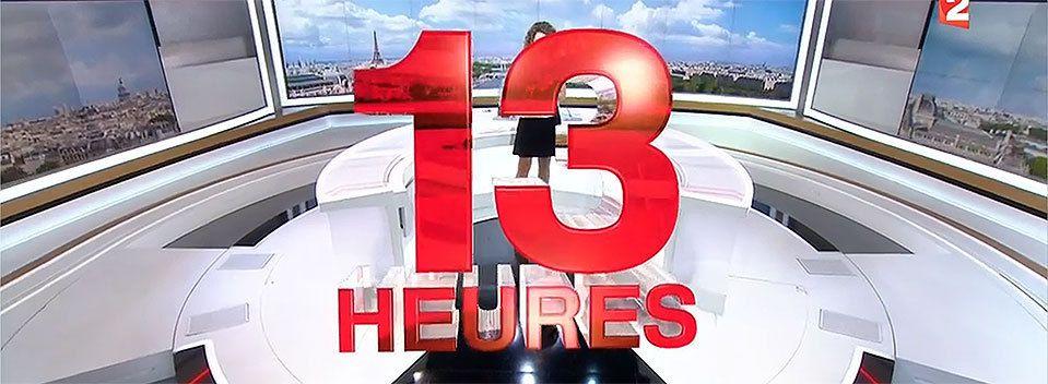 Reportage sur Les Aresquiers - Journal de 13h00 sur France 2 - 14/11/2016
