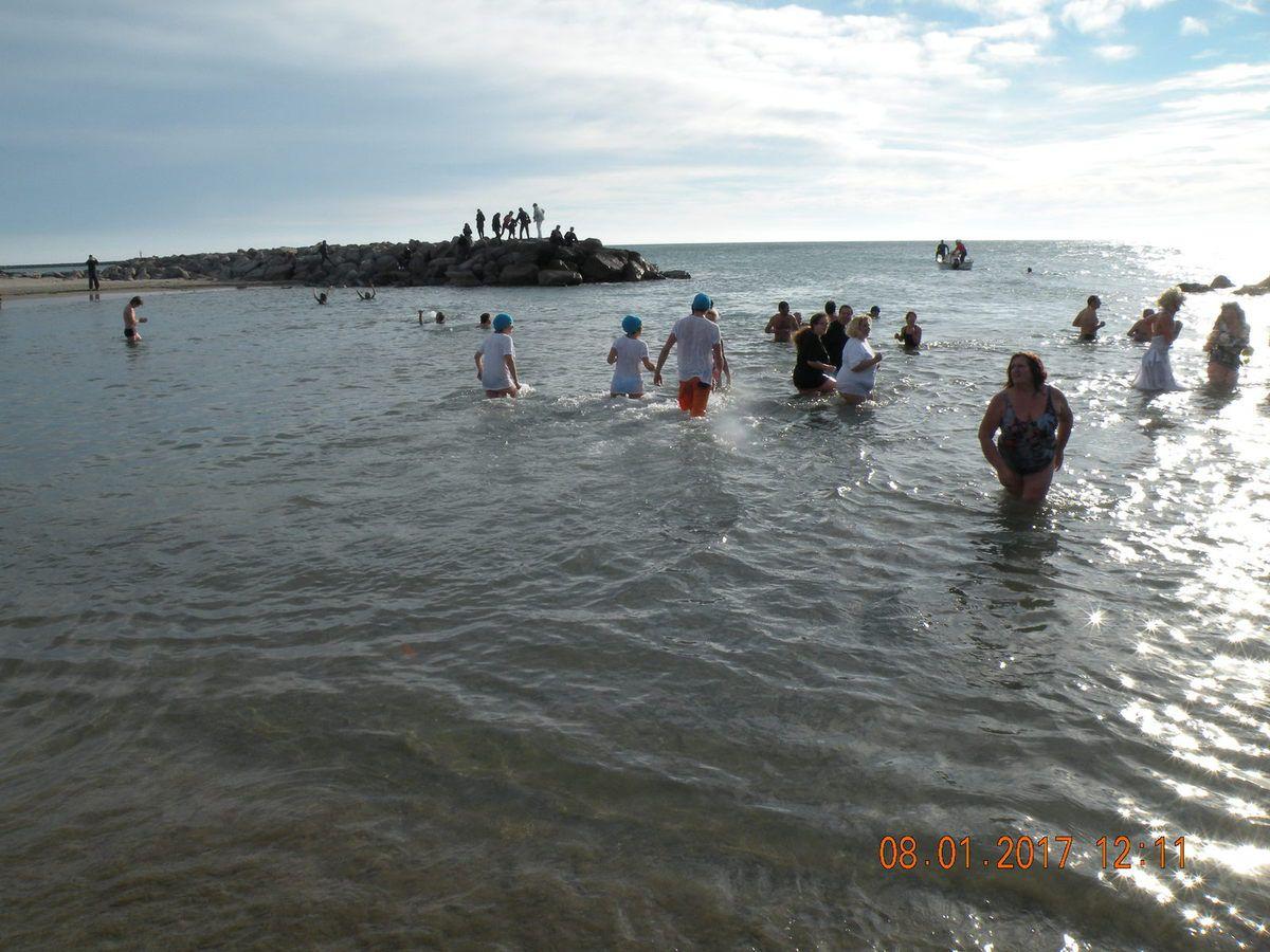Enfin le grand bain méditerranéen
