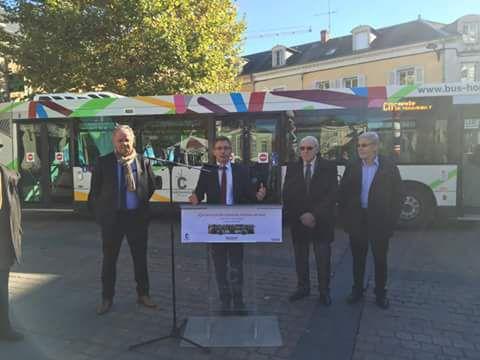Lancement officiel de nos bus horizon toujours gratuits encore plus innovant bus horizon - Office du tourisme chateauroux ...