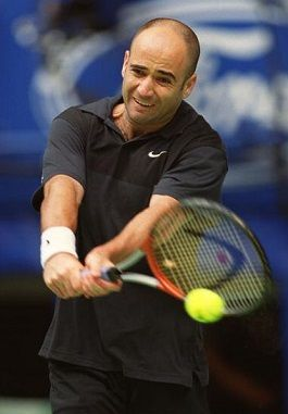 André Agassi et Kelly Jones