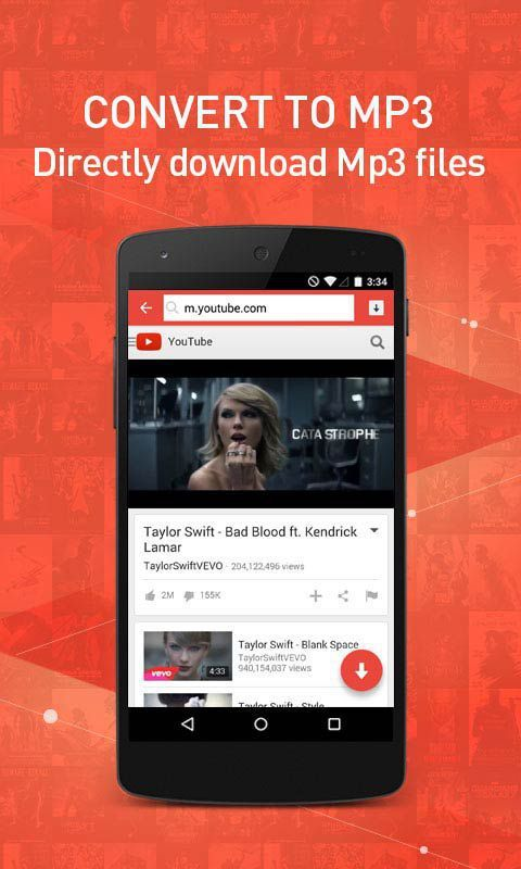 SnapTube - YouTube Downloader HD Video MP3 v4.4.0.8325 Cracked APK