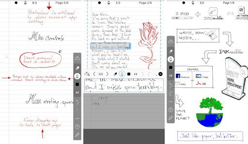 INKredible – Handwriting Note 1.0.1  Version payente Apk