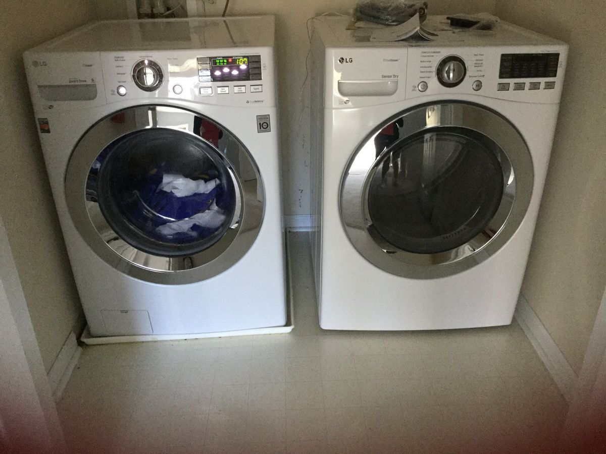 Enfin les washer and dryer de lowes. Merci
