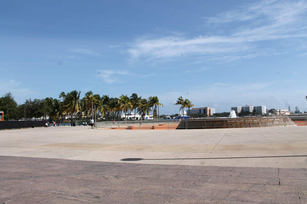 dowtown de Miami et Metromover