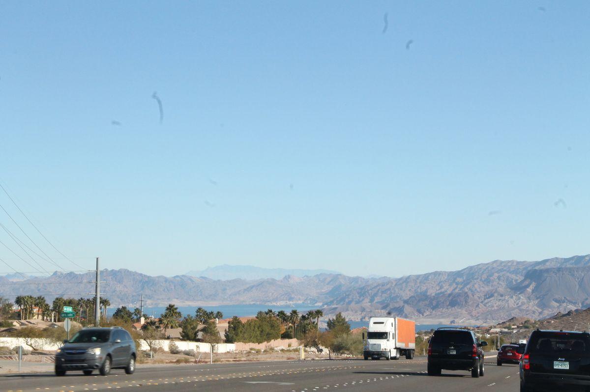 3ème jour, Hoover Dam et Red Rock Canyon
