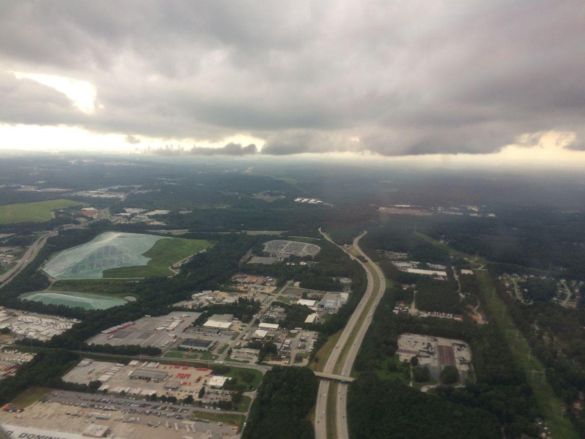 atterrissage Atlanta
