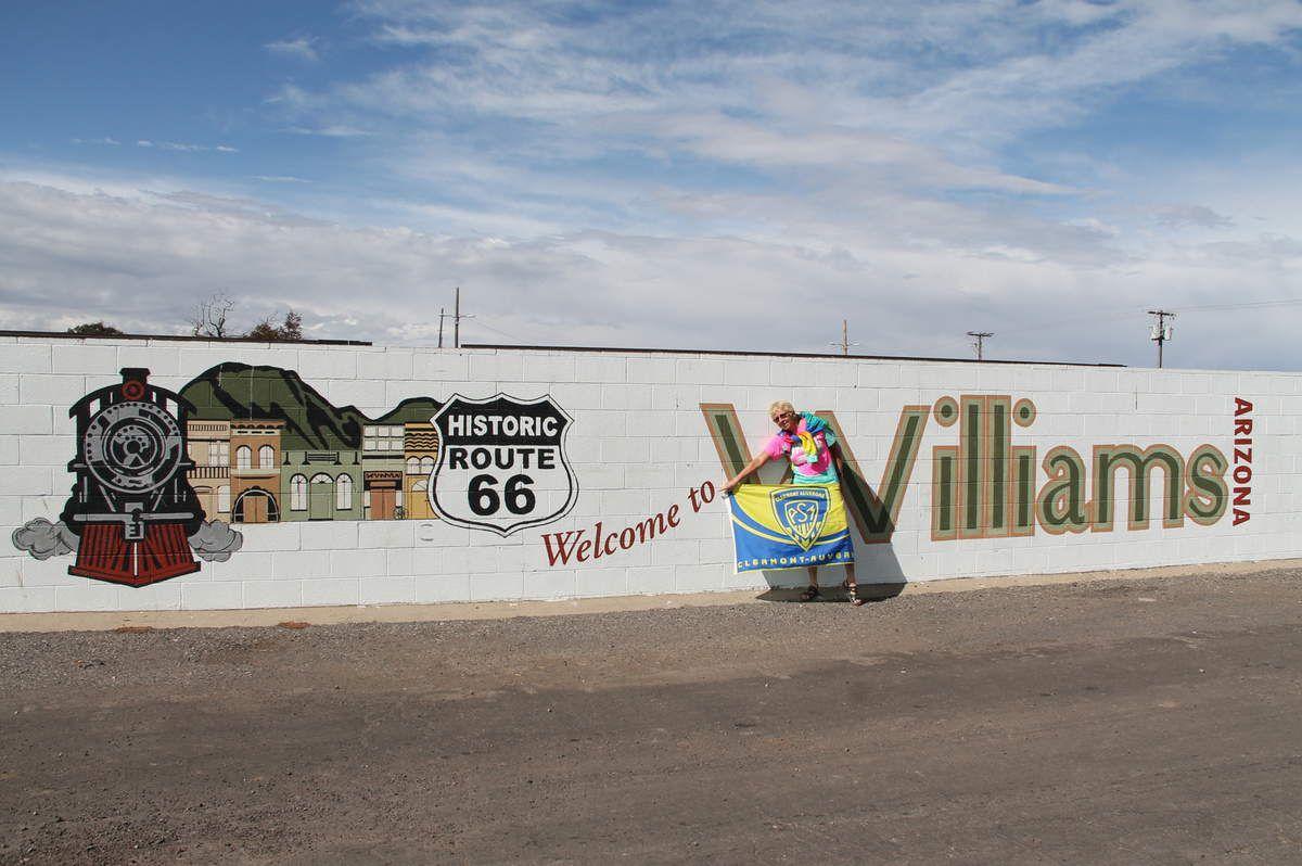 Flagstaff and Williams, Arizona