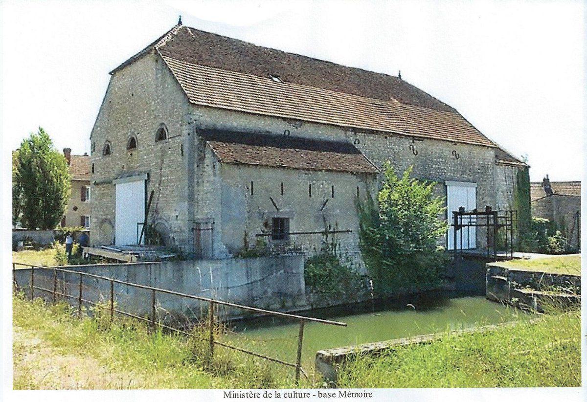 Le bâtiment du haut fourneau de Seveux en 2008. Crédit photo Mongreville, Jérôme© Région Franche-Comté, Inventaire du patrimoine, 2008