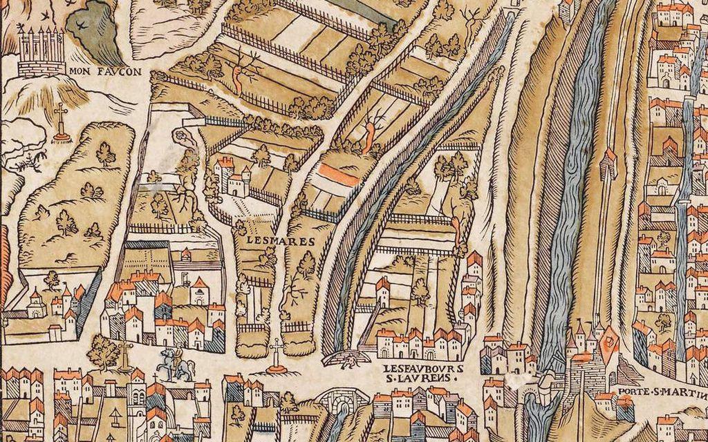 Le gibet à 4 pinacles de Ray ( interprétation) . Gibet à enclos  de Semur en Auxois en 1575. Le célèbre gibet de Montfaucon sur lequel on pouvait pendre une cinquantaine de condamnés chaque jour.