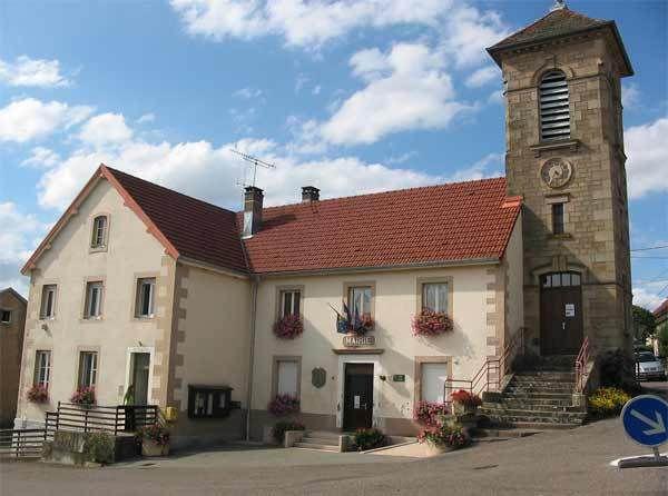 """Le """"triptyque républico-religieux"""" de Frédéric Fontaine et la Chapelle-Mairie de Recologne les Ray ."""