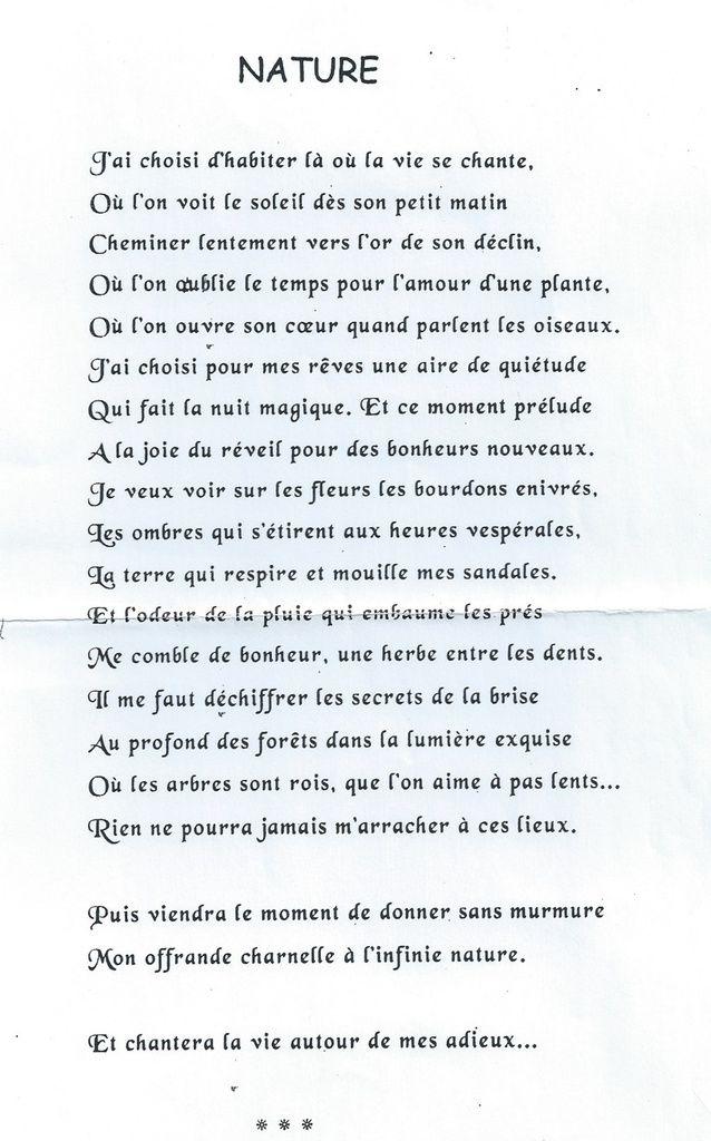 PAULE LIARD, UNE VIE REMPLIE DE POESIE!