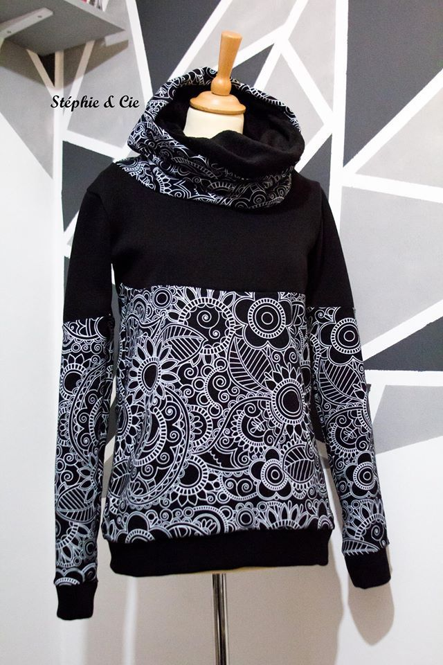 Le pull arabesque