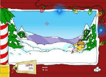 Game Lucha de Nieve Simpsons