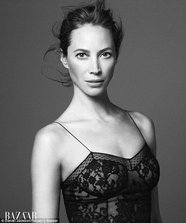 Interview beauté vanity Star: CHRISTY TURLINGTON, Marie Claire mai 2014