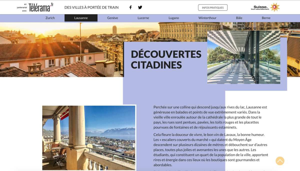 office de tourisme suisse a paris