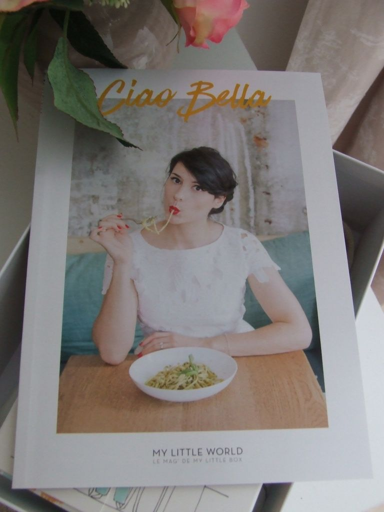 My Little Box du mois de Mai 2016 : Ciao Bella...