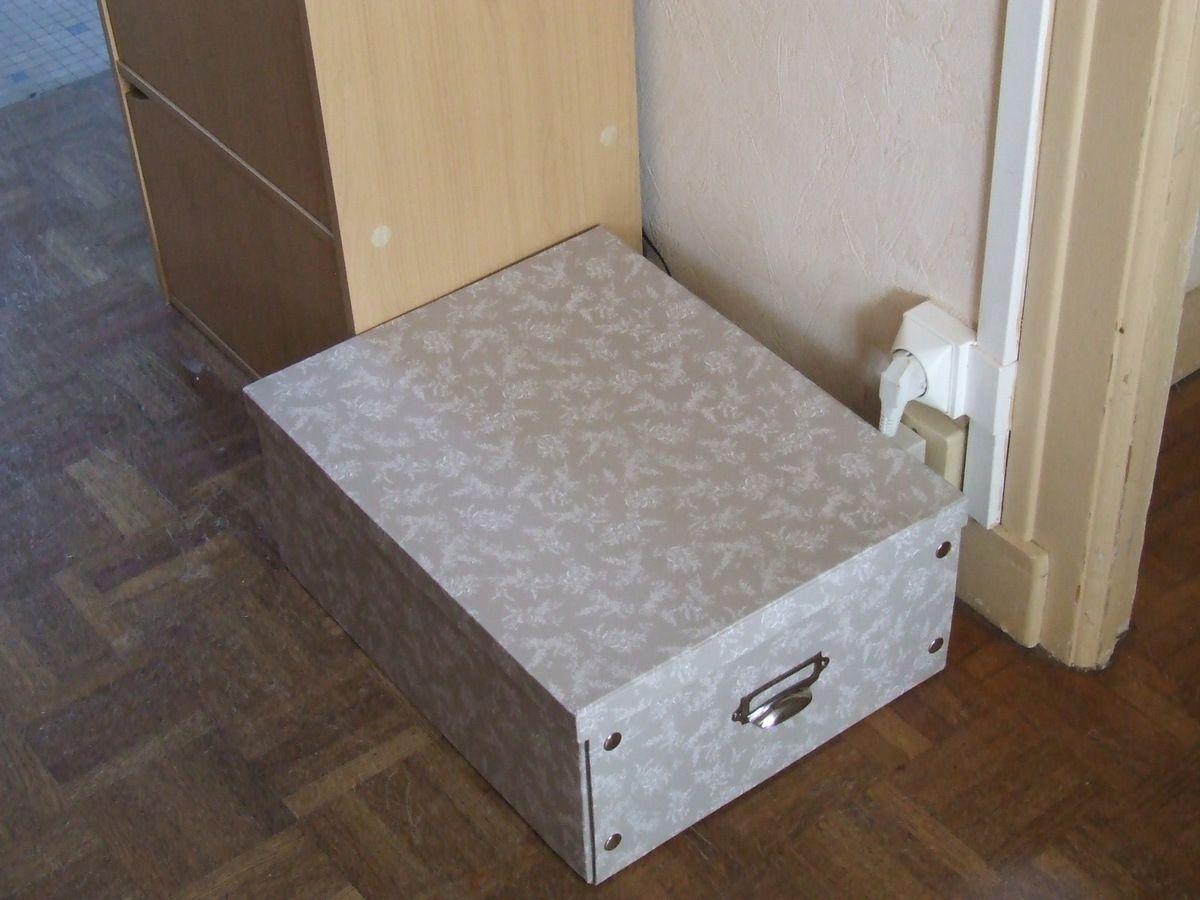 Idée Déco : Cacher la Box Internet et les câbles...