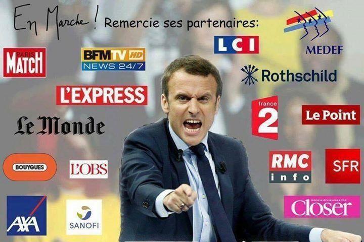 """LUI, Macron, c'est l'envoyé des forces occultes pour accomplir le programme """" LE plan """" anti christique mondial"""