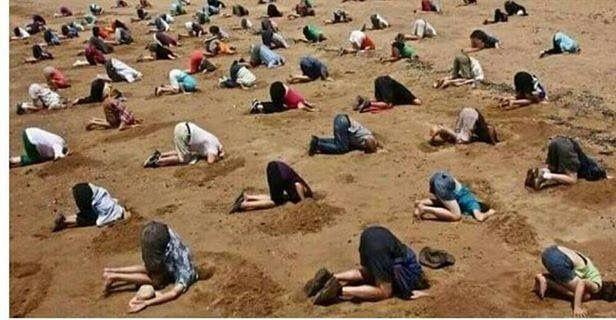 Sortir la têle du sable et admettre que l'ennemi de notre civilisation c'est l' ISLAM, ce mot qui écorche les bouches..et .que l'on n'ose pas prononcer dans les milieux gouvernementaux