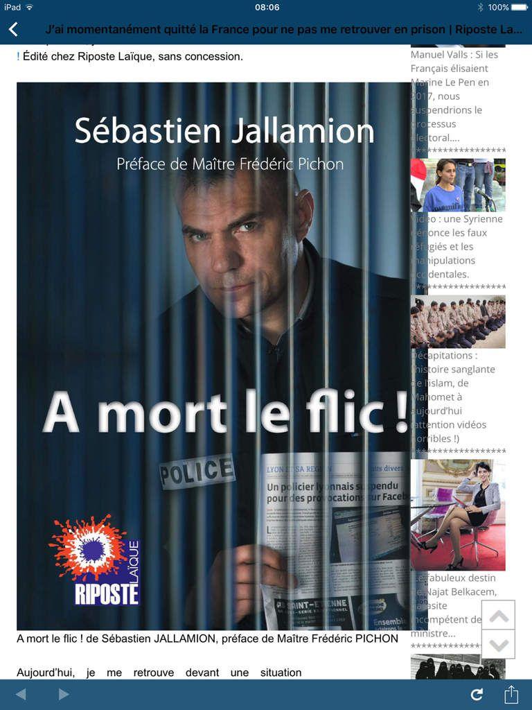 Boulevard Voltaire a pu joindre Sébastien...