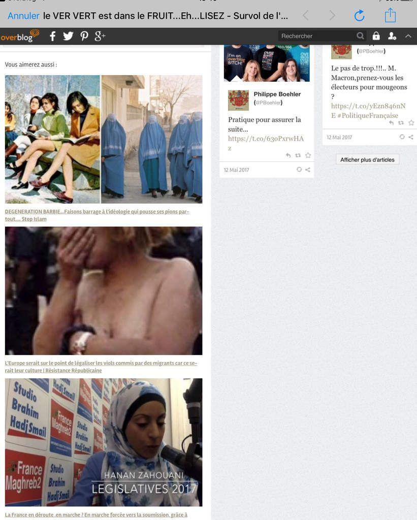 LA censure veille sur Messenger et Facebook