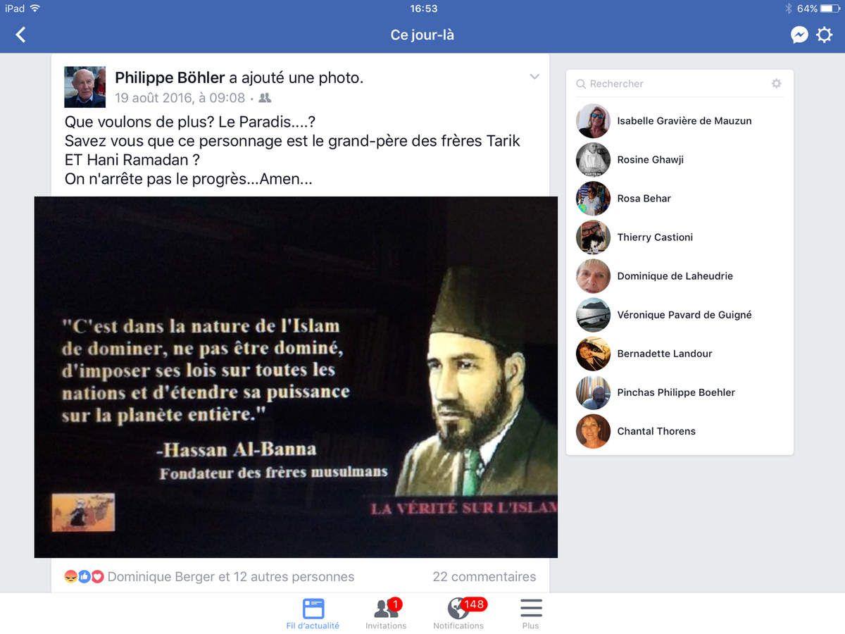 Hassan el Banna fondateur des Frères Musulmans