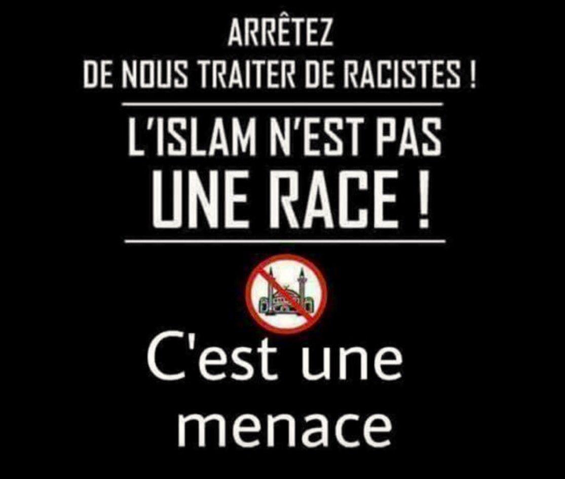 IL FAUT LE faire savoir.  L'islam est une horreur,...