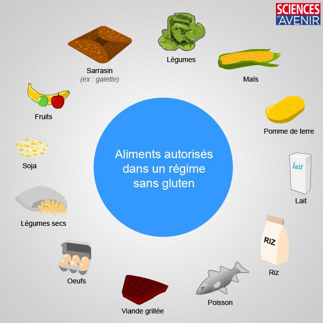 aliments contenant du gluten gluten free sport