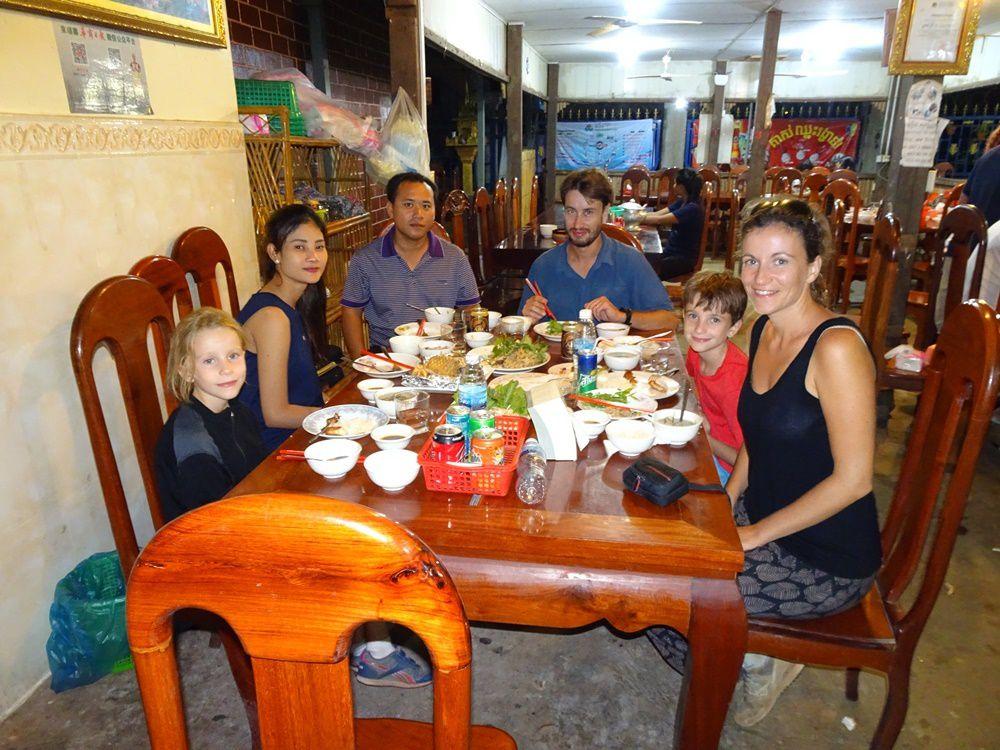 Stung Treng La première étape au Cambodge