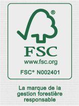 GOVA Distribution est certifié FSC sous le numéro FSC N002401
