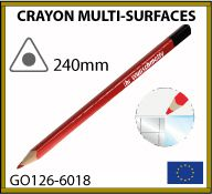crayon surfaces lisses 24cm GO126-6014