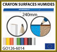 crayon surfaces humides 24cm GO126-6014