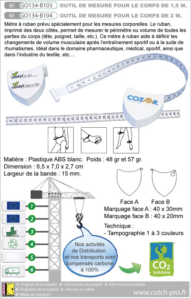 BODY FLEX de 1-5 mètres