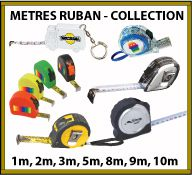 Collection de mètres à ruban