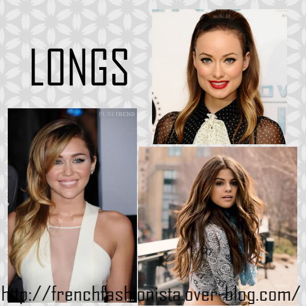 cheveux courts vs cheveux long - french fashionista