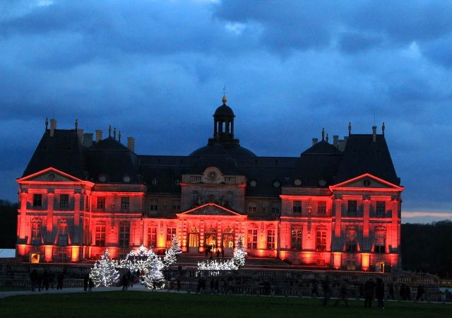 Chateau Vaux le Vicomte by night