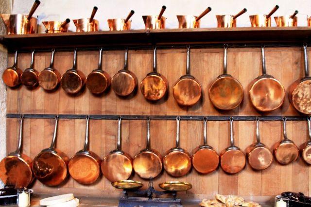 Vaux le Vicomte : les cuisines