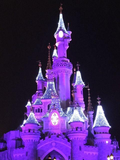 Chateau BelleBoisDormant by night
