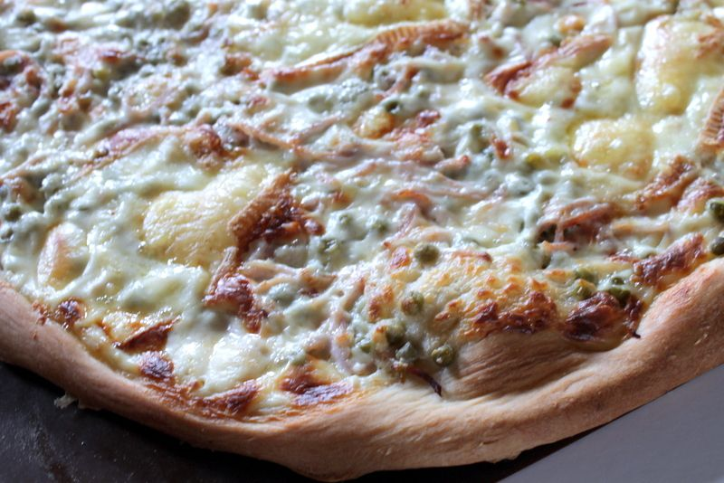 pizza au maroille